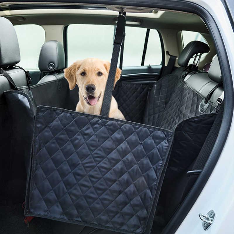 Pet araba koltuğu kapakları büyük köpekler için su geçirmez arka koltuk araba iç seyahat evcil hayvan aksesuarları köpek taşıyıcıları araba koltuğu mat kapakları
