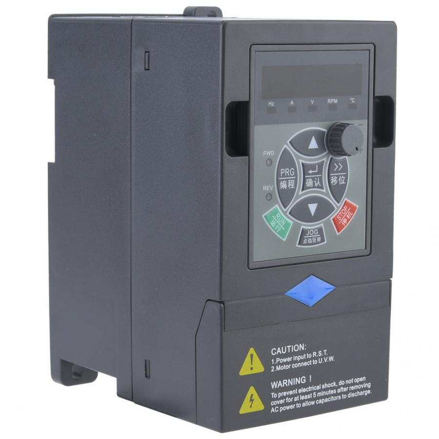 Image 3 - VFD Inverter 380V 0.75KW 3 Phase Input 3 Phase Output VFD Variable Frequency Drive Converter Inverter Variable Frequency-in Inverters & Converters from Home Improvement