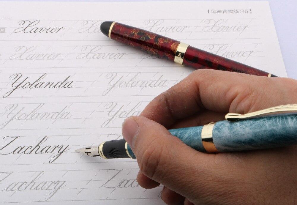Fountain Pen English Calligraphy Round Body Dipped Nib Engravers Script Pen