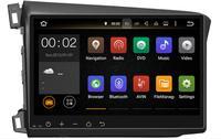 2018 8 Octa Core ОЗУ 4 г ROM 32 г Android Fit Honda Civic 2012 2013 2014 автомобильный DVD плеер навигация GPS радио