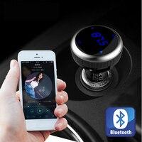 IDEAUDIOCar Fm-передатчик MP3 Аудио-Плеер Автомобиля Bluetooth Car Kit FM Модулятор С 2 USB Порт Для Зарядки в Автомобиле Автомобильный Комплект аксессуары