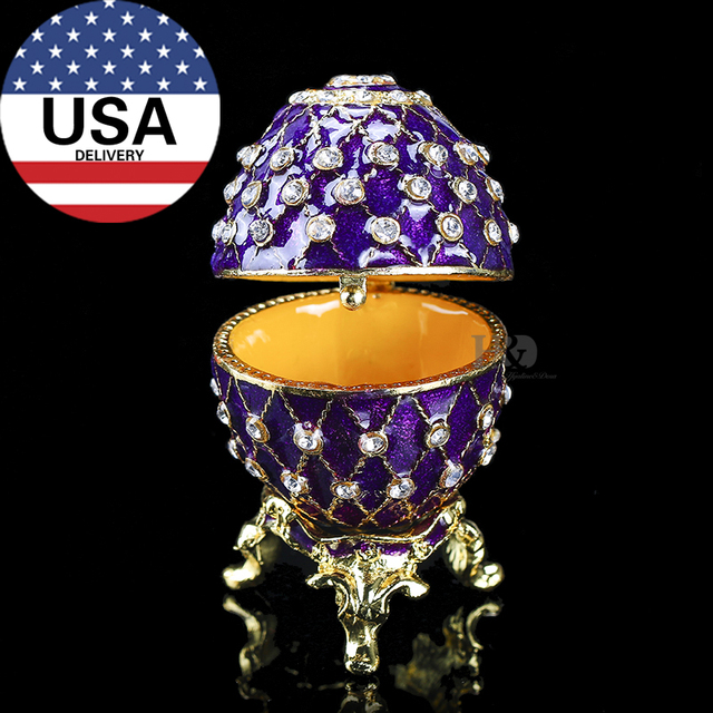 Hd easter metal crafts gifts embroidery russian egg jewelry trinket hd easter metal crafts gifts embroidery russian egg jewelry trinket box figurine for christmas gifts jewelry negle Gallery