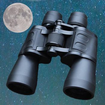 Lornetka o wysokiej jasności 10000M potężny lornetka wojskowa do polowania na zewnątrz szkło optyczne teleskop hd słabe oświetlenie Night Vision tanie i dobre opinie Lornetki 20X50 maifeng Low Light Vision Living Waterproof 50mm BAK4 FMC coating 5-3000m