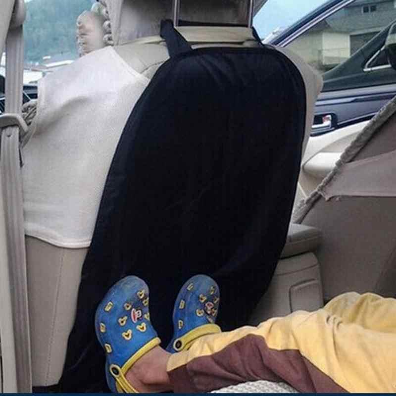Cubierta universal de asiento de coche funda protectora trasera para niños Kick Mud Dirt y zapatos húmedos se adapta a todos los asientos de vehículos con Clip