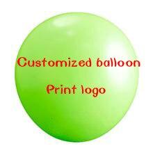 1000 unids 12 pulgadas ronda personalizada publicidad globos de impresión del lo