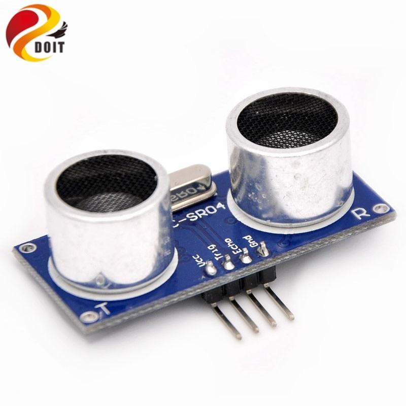 86057 free shippiing 1pcs Ultrasonic Module HC-SR04 Distance Measuring Transducer Sensor HC SR04 HCSR04 Ultrasonic Transducer dmdg d03 ultrasonic smart car mounted holder w hc sr04 ultrasonic sensor distance measuring module