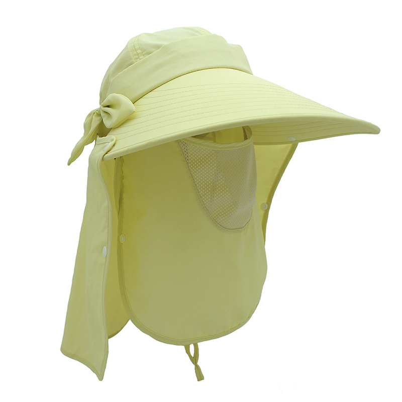 e7f4713ca Oufly Fashion Women's Foldable Sun Hat UV Protection Wide Brim Sun Hat Face  Neck 360 angle Protection Summer Beach hat