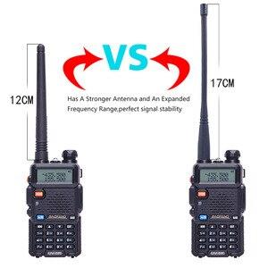 Image 2 - 2PCS Baofeng BF UV5R חובב רדיו מכשיר קשר נייד Pofung UV 5R 5W VHF/UHF רדיו Dual Band שני דרך רדיו UV 5r CB רדיו