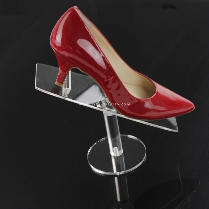 Qëndrues ekrani akrilik i këpucëve Qëndrues i këpucëve Riser - Magazinimi dhe organizimi në shtëpi - Foto 2