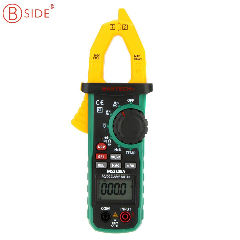 Can A Clamp Meter Measure Amps : Mastech ms a auto range digital ac dc clamp meter ture