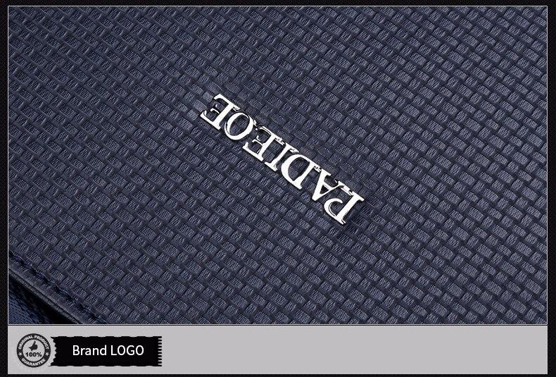 7ece9075ed Padieoe Elegance Men s Casual PVC Shoulder Bag