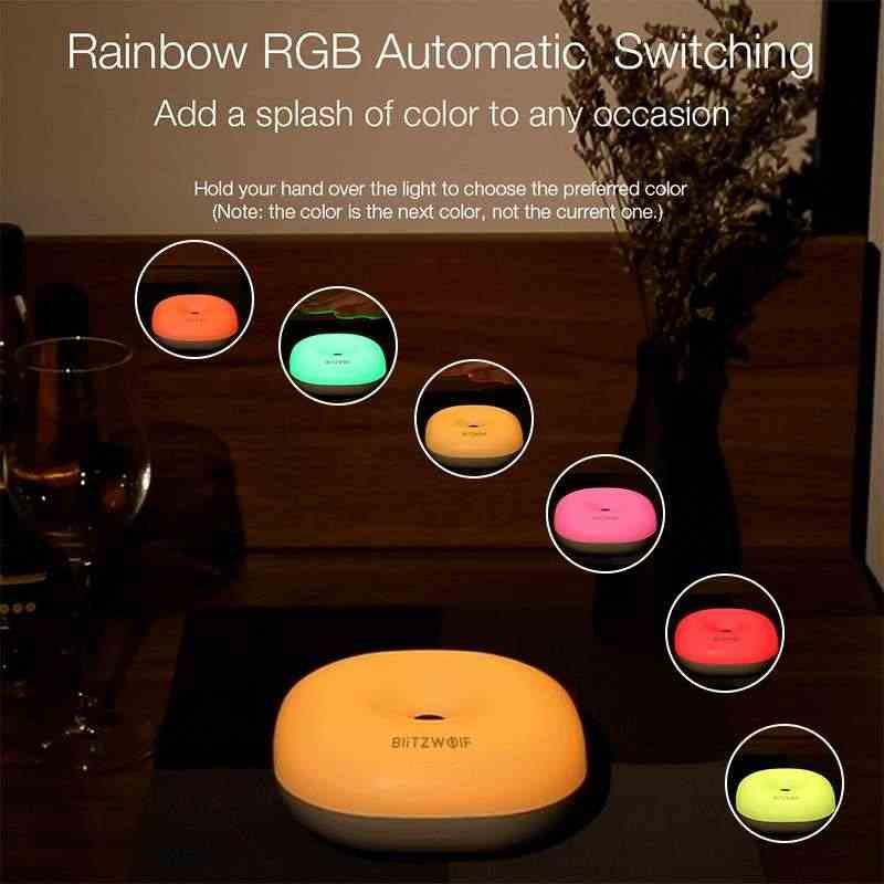 BlitzWolf BW-LT18 الذكية لفتة التحكم الاستشعار 2800-3200K LED ضوء الليل RGB عكس الضوء السرير المحيطة مصباح ستبليس يعتم