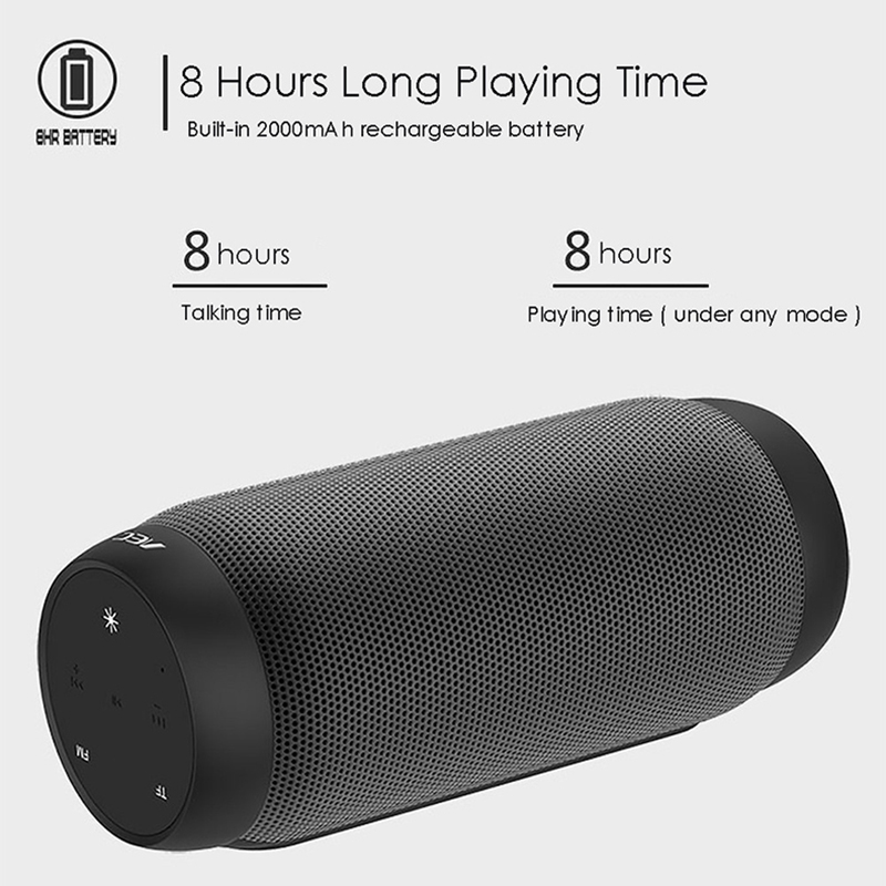 Image 2 - Bluetooth Speaker Colorful Waterproof Super Bass Subwoofer Outdoor Sport Sound Box FM Portable Speaker For iPhone Xiaomi Huawei-in Portable Speakers from Consumer Electronics