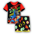 2016 new Baby Boys Kid SportsWear Tracksuit Outfit cartoon gilrs Suit Summer kids boys clothes sets 2-7y dx27