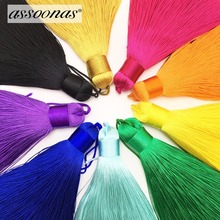 hot deal buy assoonas l148,silk tassels,jewelry accessories,jewelry making supplies,accessories parts,earrings pendants,charms,2pcs/lot