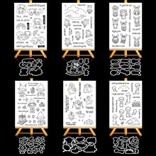 Transparent Silicone Clear Stamp Seal Scrapbooking