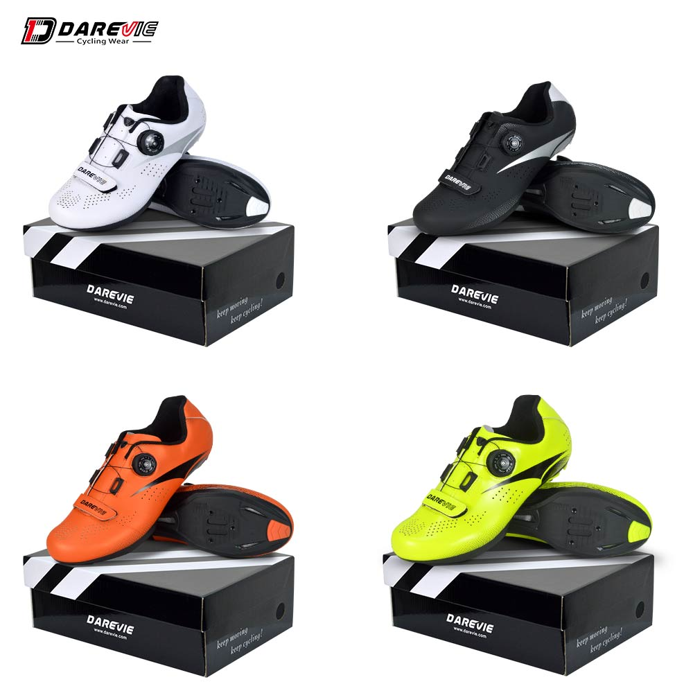Darevie 2019 Road Cycling Shoes Bicycle Shoes Breathable racing Cycle Shoes mens cycling shoes sale bike