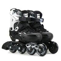 Оригинальный Летающий орел S6S Профессиональный Инлайн ролики для слалома ребенка Размер Регулируемая обувь для роликов, скейтборда дети бе