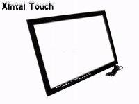 10 реальных точек 70 IR multi touch screen Overlay/Инфракрасная сенсорная рамка