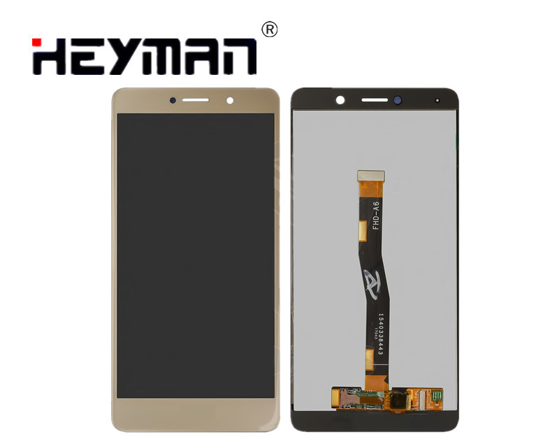 LCD-for-Huawei-Honor-6X-Cell-Phone-golden-with-touchscreen
