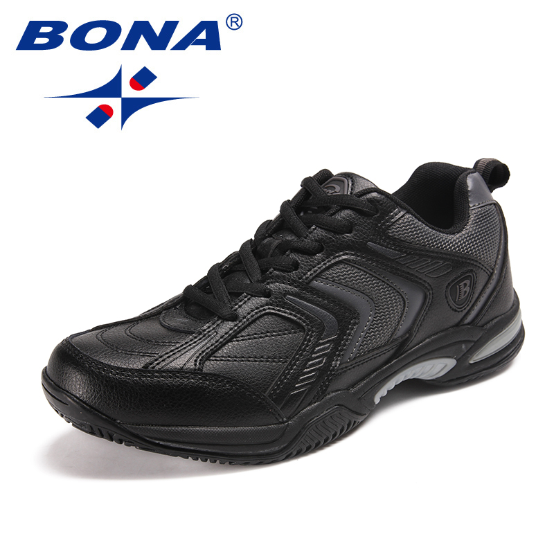Image 2 - BONA New Classics Style Men Tennis Shoes Lace Up Men Athletic 