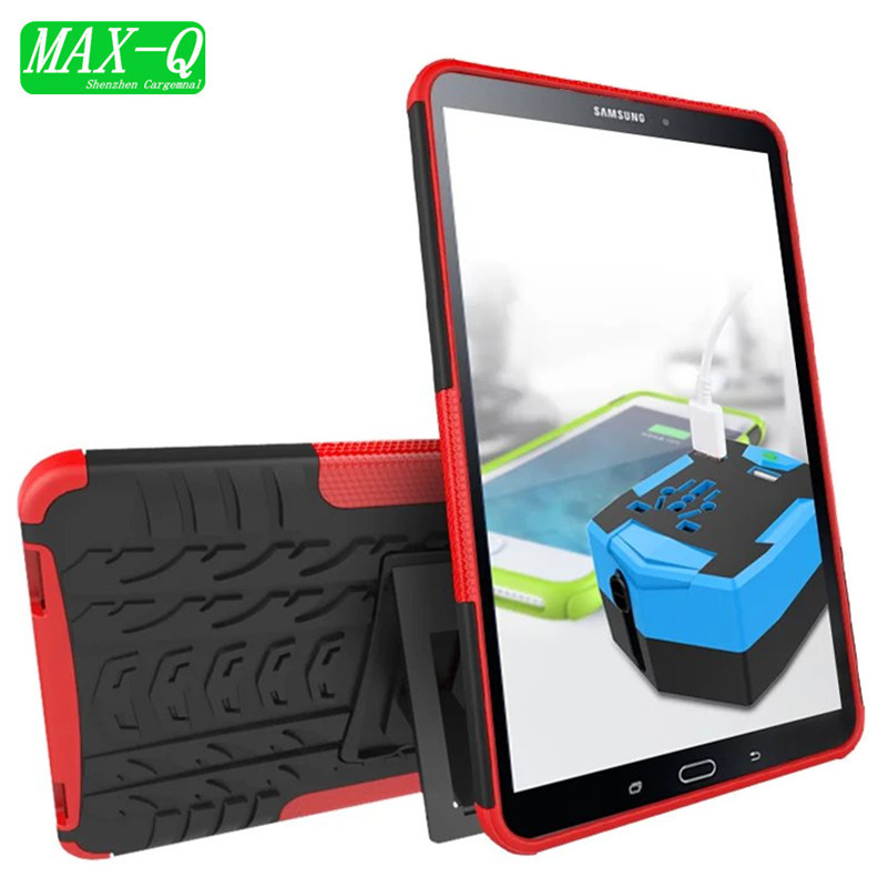 T580 Heavy Duty TPU + Hard plastic Case Cover Protector Stand Tablet For Samsung Galaxy Tab A 10.1 2016 T585 t580 SM-T580
