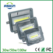 LED Flood Light Waterproof IP66 30W 50W 100W 85-265V LED Floodlight Spotlight Fit For Outdoor Wall Lamp Garden Projectors