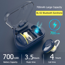 Mini Wireless Bluetooth 4.2 Stereo Earphones Sport Headsets with 700mAh Charger Box Mic Earbuds Earpieces for sport earphone top mini sport bluetooth earphone for asus zenfone 3 max zc553kl earbuds headsets with microphone wireless earphones