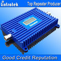 Display LCD DCS Lintratek Impulsionador 70dbi Sinal Móvel Impulsionador GSM 1800 Mhz Repetidor de Sinal de ALC 4G LTE 1800 Mhz Impulsionadores Cell S35
