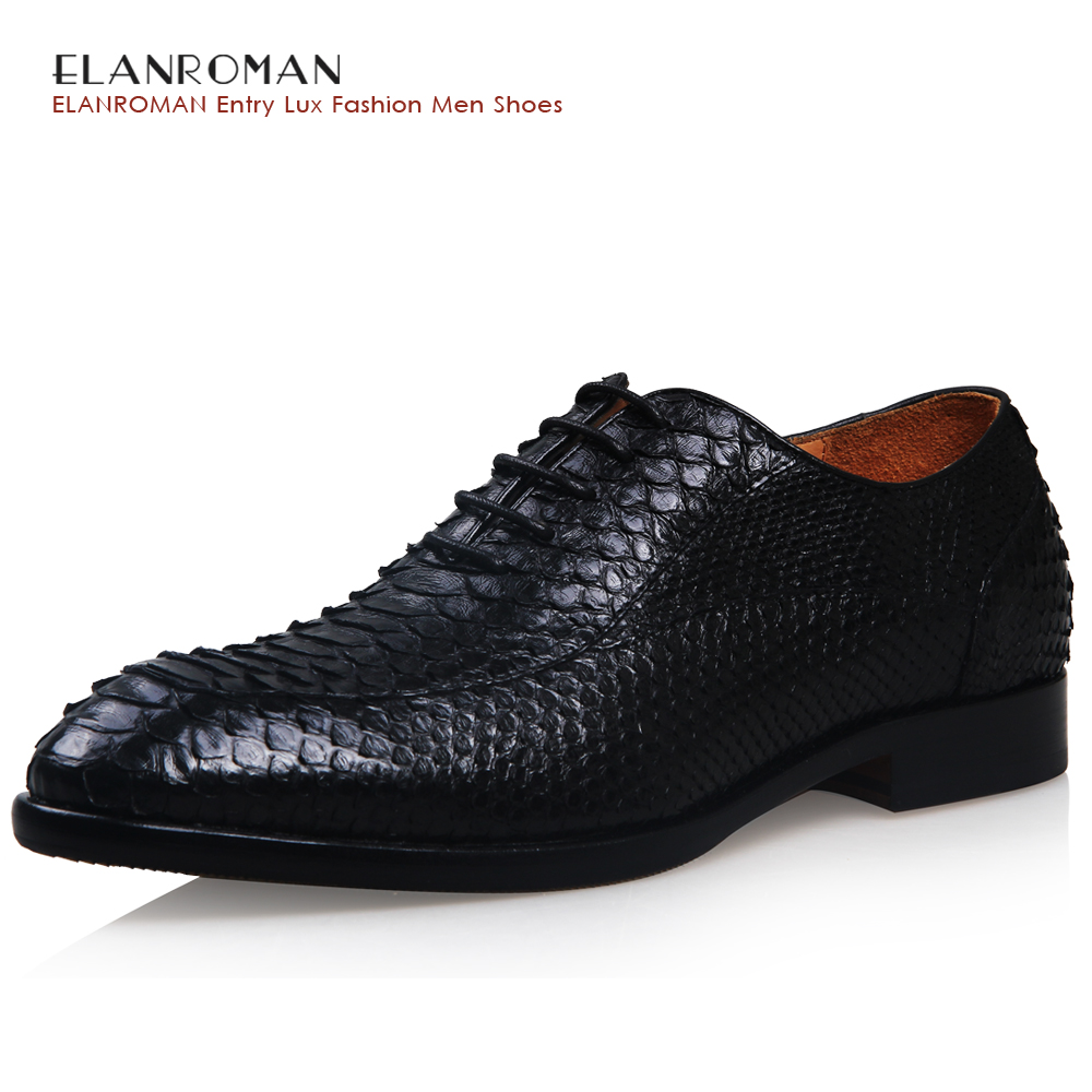 aliexpresscom buy elanroman mens luxury dress shoes