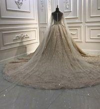 Amanda Design Luxury New Arrival Handwork Sequin Long Veil