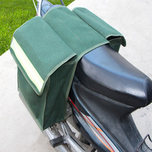 UNIVERSAL CANVAS WATERPROOF motorcycle luggage bags saddlebag saddle motorbike saddlebags free shipping
