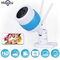hiseeu 720P HD Wifi Camera Network Surveillance Night Camera Indoor Home P2P CCTV Camera Wifi Function Onvif Camera Baby Monitor