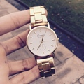 Women Gold Watch 2015 New High-Polished Bracelet Watch With Color Dial, Classy And Chic Simple Color Dial Watch Geneva Watch