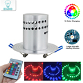 3 Вт Светодиодный светильник современный алюминиевый встраиваемый RGB светильник AC85-265V потолочное светящееся Освещение декоративные светил...