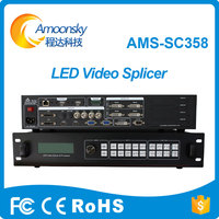 Amoonsky HDMI Full Color LED Video Processor 4K Video Splicing Processor SC358 For P5 P6 P4