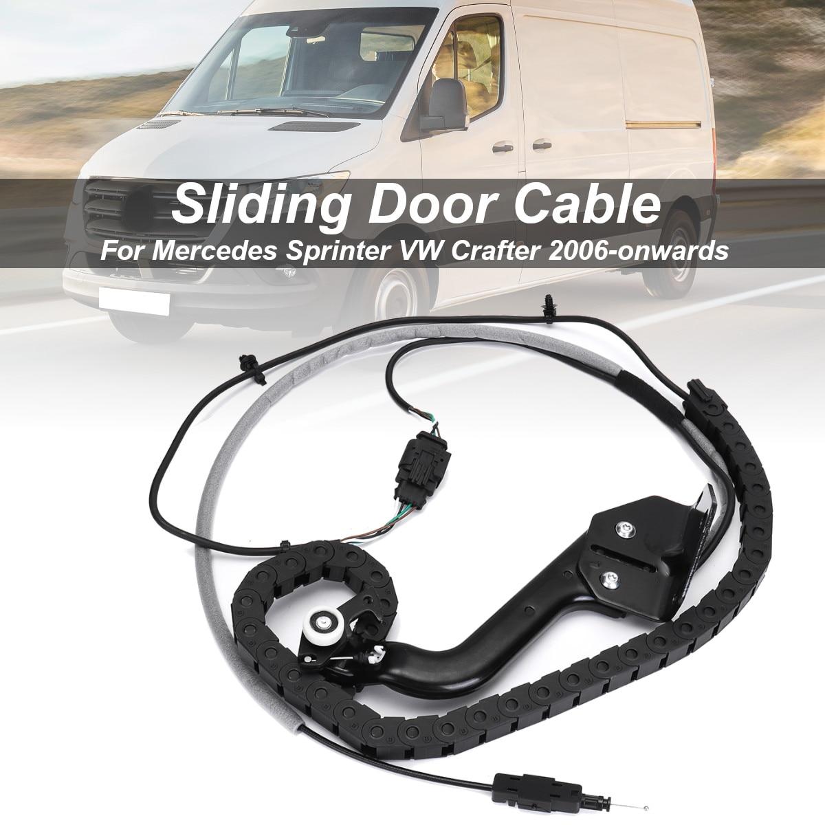 Porte coulissante Câble Basse Bas chemin de roulement Gauche N/S Pour Mercedes Sprinter pour VW pour Crafter 2006-en avant