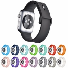 Silicone Band for Apple Watch Series 1 2 with Silicone Strap for IWatch Sport Band Official Colors