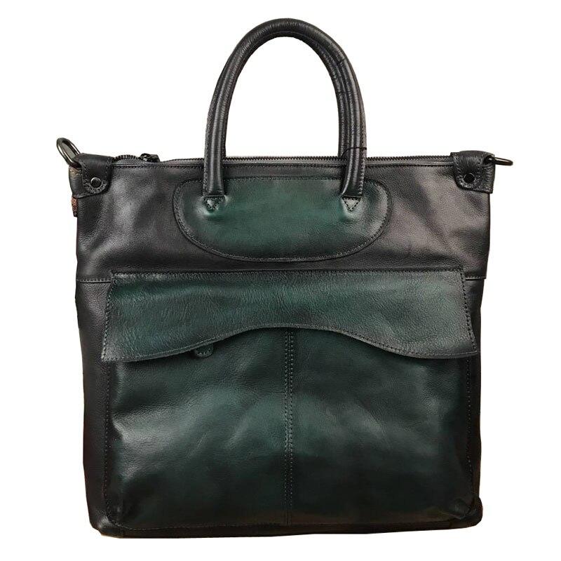 Original Brand Designer Vintage Cow Leather Genuine Soft Cowhide Women's handbags Solid Crossbody Messenger Bags Totes