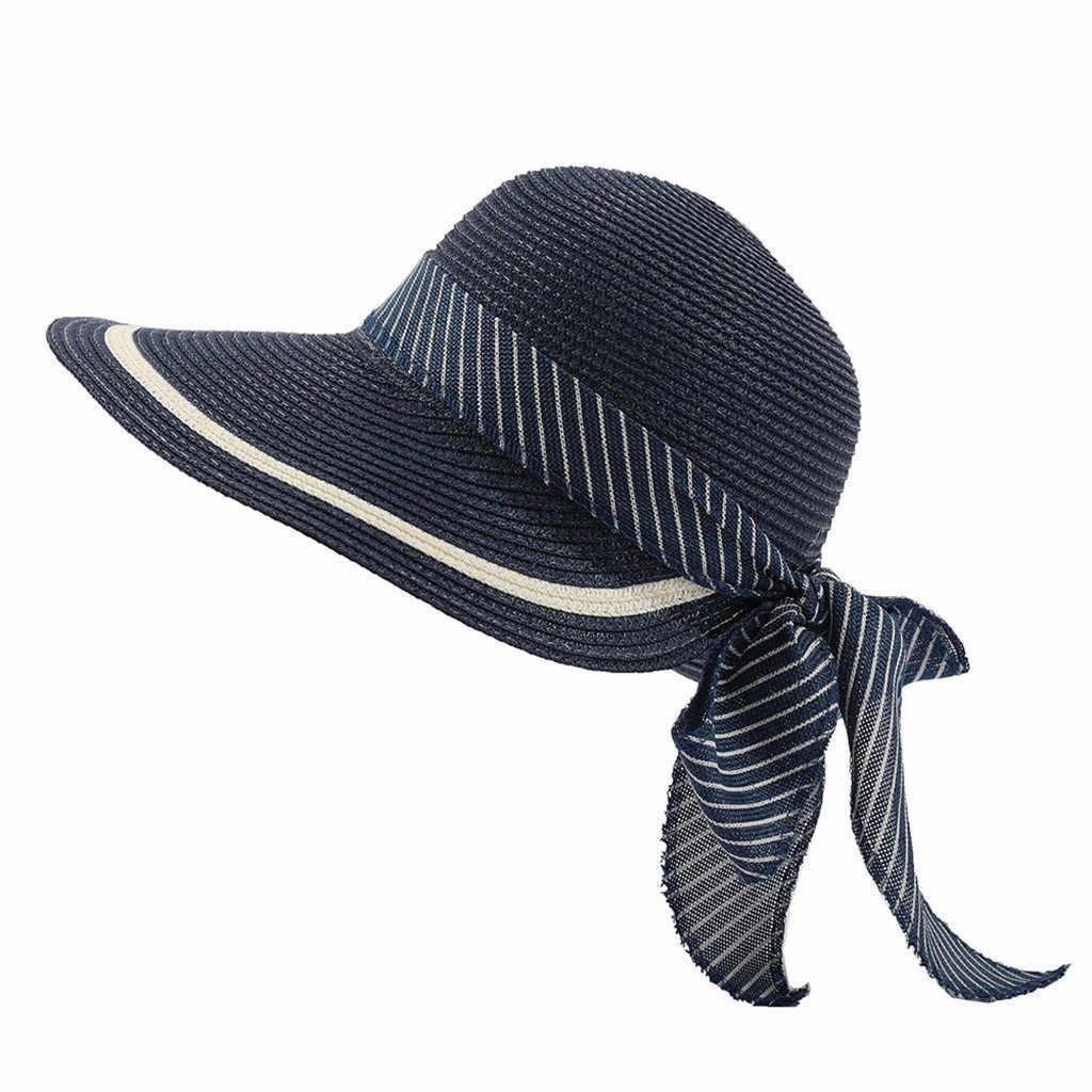 Moda 2019 Mais Novo Estilo de Verão Das Senhoras Das Mulheres Chapéu Chapéu de Sol Das Mulheres Proteção UV Dobrável 50 UPF + Algodão Balde de Praia chapéu do feriado