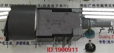 1 шт./лот потенциометр двигателя шесть 100KAX6 ручка с длинной резьбой 25 секс A100K