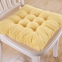 Квадратная подушка для стула, напольная подушка для сидения с татами, красочные обеденные подушки для стульев, офисный домашний декоративн...