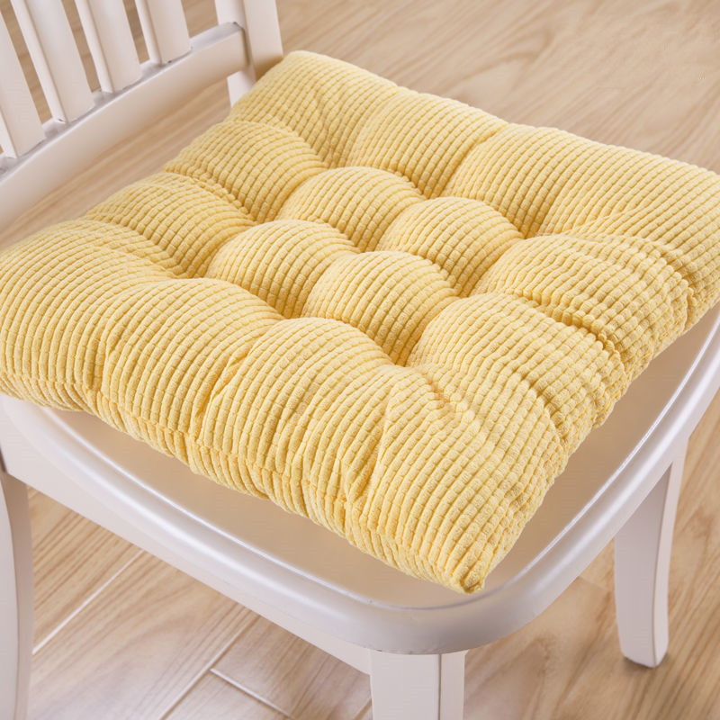 Square Chair Cushion Outdoor Tatami Seat Pad Colorful Dinning Stool Cushions Office Home Decor Chair Cushion Buttocks Seat Mat