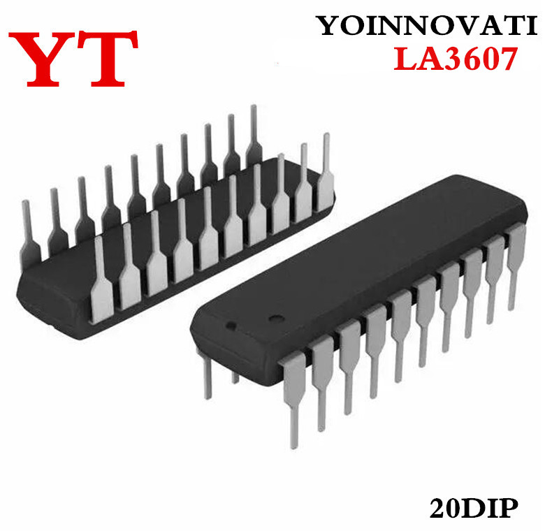 US $8 29 21% OFF|Free shipping 10pcs/lot Graphic equalizer LA3607 IC Best  quality-in Integrated Circuits from Electronic Components & Supplies on