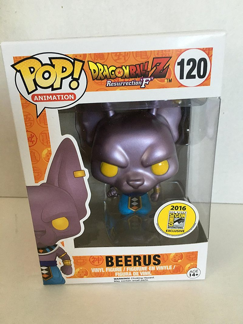 2016 SDCC Exclusive Funko pop Official Dragon Ball Z Super - Lord Beerus Vinyl Action Figure Collectible Model Toy In Stock nd pre sale new genuine funko pop dragonball z super saiyan goku3 75 inch vinyl dolls dragon ball vinyl figure free shipping