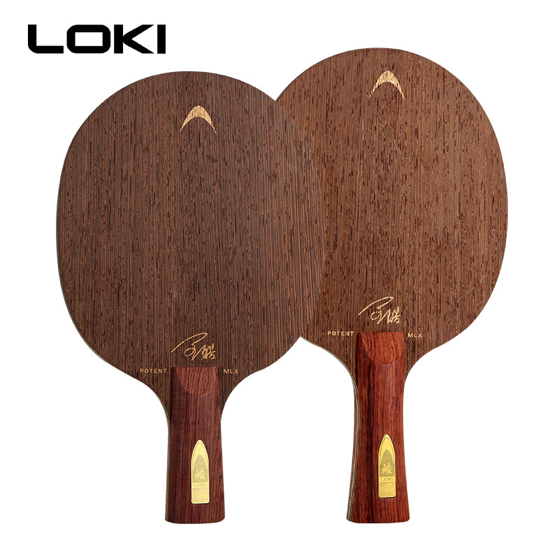 LOKI Potent MLX High Quality Wenge Wood Table Tennis Blade Professional 7 Layers Ping Pong Blade Offens Pingpong Bat
