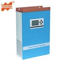 Гибридный контроллер преобразователя 300 Вт 12 В 24 В Чистая синусоида солнечный Мощность Зарядное устройство с ЖК дисплей Дисплей двойной Про
