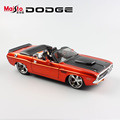 1:24 Scale children dodge Challenger 1970 charger metal muscle die cast racing vintage model miniature cars toys gift for kids