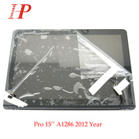 New Glossy 2012 Year A1286 LCD Screen Assembly For Apple Macbook Pro 15'' A1286 LCD LED Screen Assembly MD103 MD104