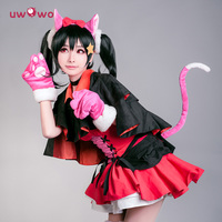 Nico Yazawa Cosplay Love Live Devil Lovelive Neko Cat Uwowo Halloween Demon Costume Uwowo Cosplay Nico Yazawa Love Live Devil